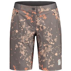 Maloja AnemonaM. Printed Multisport Shorts Women, stone mille fleur